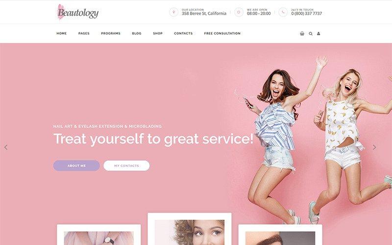 Beautolog - Health Care, Nutrition and Beauty WordPress Theme
