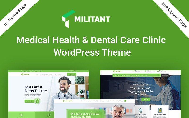 Militant-Medical & Health WordPress Theme