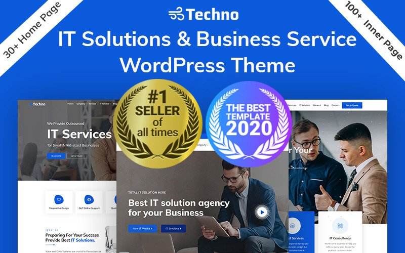 Techno - IT Solutions & Business Consulting WordPress Theme