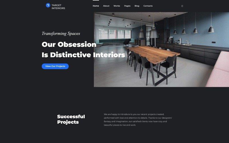 Terra Interior - Interior Design WordPress Theme